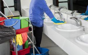 désinfecter une maison sale