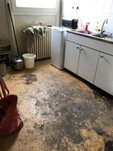 Nettoyer un squat